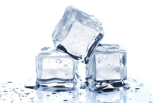 Glacons qui fondent