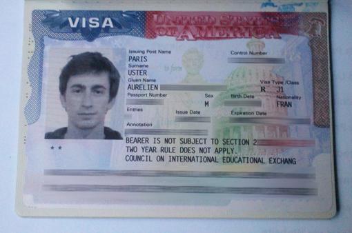Le fameux Visa J1